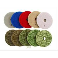China 5 Step Wet Diamond Polishing Pads wholesale