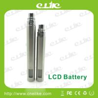 China 510 thread E-cigarette Battery Lcd Screen with Huge Capacity wholesale