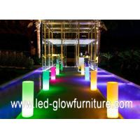 Buy cheap Colorful lights LED Pillars with 16 single color and 4 RGB multi color changed from wholesalers