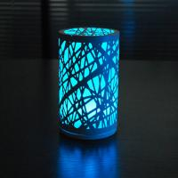 China Charming unique D95*H165cm size Glass and iron LED Table lamp at night. on sale
