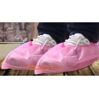 China Disposable nonwoven shoe covers plastic rain waterproof shoe cover nonwoven medical shoe cover non-woven anti-skid shoes wholesale