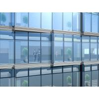 China Outside Invisible Aluminum Alloy Glazed Curtain Wall With Hollow Tempered Glass wholesale