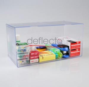 China Deflect-o Acrylic Storage Boxes,304x150x150(mm) wholesale