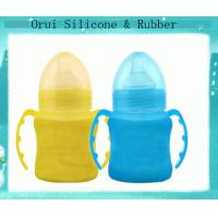 China Shenzhen  manufacturer eco-frienly silicone  bottle  for milk wholesale