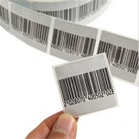 China EAS Anti-theft Security Soft Label rf 4*4cm eas label for library wholesale