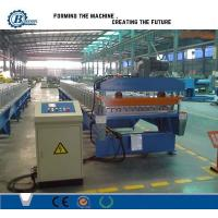 Wholesale Corrugated Roof Panel Roll Forming Machine , Metal Roofing Sheet Making Machine from china suppliers