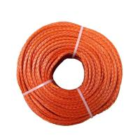 China 200m Orange Hmpe Mooring Lines High Strength Weight Ratio Safe Stable wholesale