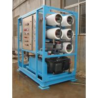 China 100T/day Reverse Osmosis System Seawater Desalination for Boat wholesale
