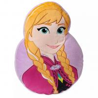 China Fashion Disney Original Plush Anna and Belle Head Pillow For Bedding and Cushion on sale
