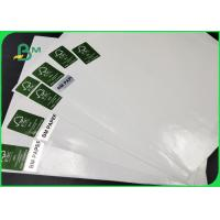 Quality Thickness 30 - 350gsm PE Coated Paper , White Color Kraft Paper In Coils For for sale