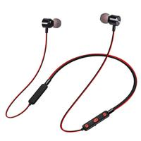 Buy cheap 55mah Battery Bluetooth Earphones V4.2 Neckband Headset Sport Wireless Headphone from wholesalers