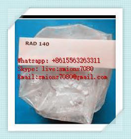 CAS 1182367-47-0 Hgh Human Growth Hormone SARMS Powder Rad140 Increasing Lean Body Mass