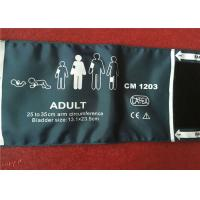 China Adult Non Invasive Blood Pressure Cuff With One / Two Tube Hose 27 - 35cm Size wholesale