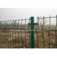 China Soft Iron Garden Triangle Fence Panel Waterproof Easily Assembled Corrosion Resistant wholesale