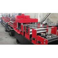 China Automated Changeable C Z Purlin Roll Forming Machine For 100-300 Mm Width wholesale