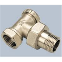 China Brass radiator valve (V21-002) wholesale