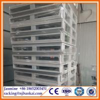 China 4 way entried 1000kg load C type Steel Panel Pallet (1100*1100*165mm) wholesale