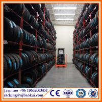 China Stacking steel truck tire rack storage system wholesale