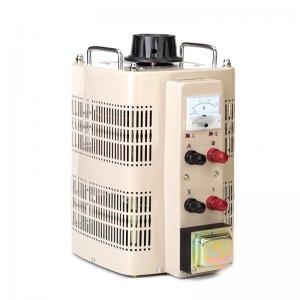 China Single Phase AC 3kva Variac Analog Meter Display TDGC2-2 Voltage Regulator wholesale