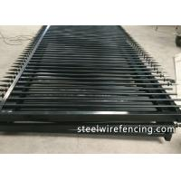 China Factory Security Automatic Driveway Gates / Ornamental Metal Railings wholesale