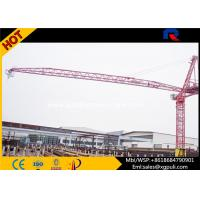 Quality Luffing Jib Types Of Tower Cranes Construction Machine For Buildings for sale