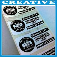 China warranty void labels wholesale
