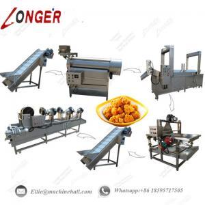China Chicken Nuggets Processing Line|Chicken Nuggets Fryer Machine|Fried Chicken Nuggets Making Machine|Chicken Fryer Machine on sale