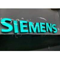 China SIEMENS Epoxy Resin Lighted Channel Letters for Store Cabinet Advertising wholesale