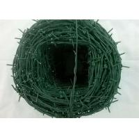 China Tradition Twisted Barbed Wire Mesh Fence Powder Coated With 1.5-3cm Barb Length wholesale