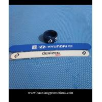 China newest high quality promotional gift silicone bracelet, custom slap wristband wholesale