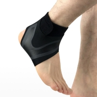 China Knitted Ankle Compression Sleeve / Ankle Support For Sport People wholesale