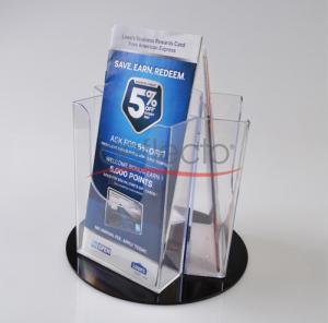 China Deflect-o Acrylic Rotated catalogue Holder wholesale
