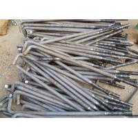 China Carbon Steel Foundation L Anchor Bolts , Hold Down Bolts For Concrete M24 M36 wholesale