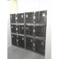 Combination Stainless Steel Animal Cages 2400 700