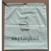 China EVA Transparent White LDPE Frosted Small Plastic Drawstring Bags wholesale