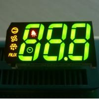 China 0.67 inch 3 Digit Seven Segment Display Common Anode Green Yellow Red wholesale