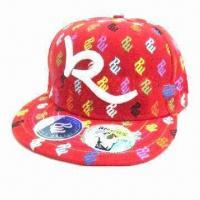 China Fashion Hip-hop Cap with Embroidery Logo wholesale