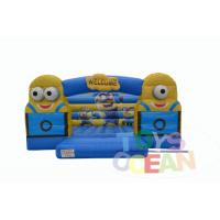 China Backyard Party Fun Minions Inflatable Bouncy Castle Cartoon Minions Jumping wholesale