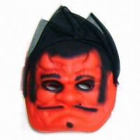 China EVA Devil Mask with 100% Polyester Cloth Component wholesale