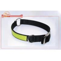China Heavy Duty Dog Collars , Reflective Nylon Dog Collars And Leads on sale