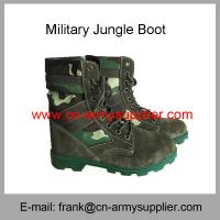 Wholesale Cheap China Police Rubber Outsole Camouflage Jungle Boots