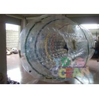 China Human Sized Transparent Inflatable Water Ball Amazing For Kids SGS / CE wholesale