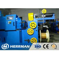 China Triple Layer Concentric Cable Taping Machine Speed Up To 2200RPM PLC Control wholesale
