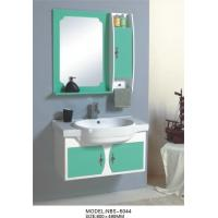 China hung  cabinet / PVC bathroom vanity / wall cabinet / whitecolor for bathoom kitchen 80 X49/cm wholesale