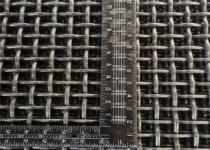 8mm Square Hole Double Crimped Wire Mesh Aperture 25mm