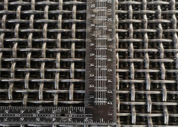 Quality 8mm Square Hole Double Crimped Wire Mesh Aperture 25mm for sale