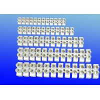 China H Type Screw Terminal Block Connector , Touch Safe 12 Way Terminal Block 250V-450V GK107 wholesale
