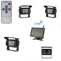 Buy cheap 2.4GHz IR CMOS Wireless Backup Cameras Night Vision With LCD Screen from wholesalers