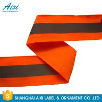 China Garment Accessories Orange Reflective Clothing Tape High Light 3M Reflective Tape wholesale