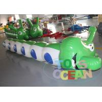 China Worm Shaped Durable Inflatable Bouncer Jumping Team Inflatable Sports Game wholesale